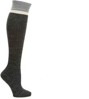 BearPaw Women's Striped Cuff Women's's Knee Socks