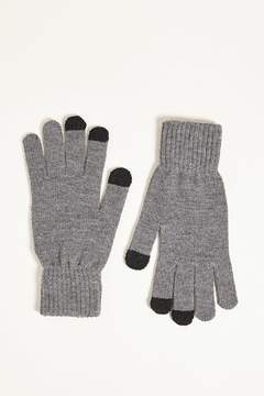 21men 21 MEN Touchscreen Knit Gloves