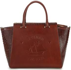 Brahmin Elton Collection Logo Taylor Satchel
