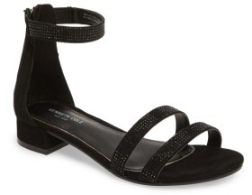 Kenneth Cole New York Girl's Julie Jazz Embellished Sandal
