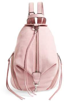 Rebecca Minkoff Medium Julian Nubuck Backpack - PINK - STYLE