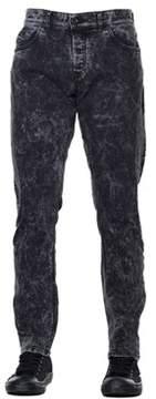 Diesel Black Gold Men's Black Cotton Jeans.
