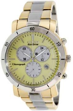 Citizen DRIVE AML 3.0 Chronograph Two-Tone Women's Watch, FB1346-55Q