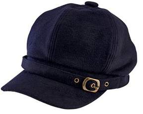 San Diego Hat Company Women's Cabbie Baseball Cap With Metal Buckle Cth8082.