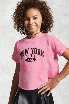 Forever 21 Girls Terry Tie-Dye Tee (Kids)