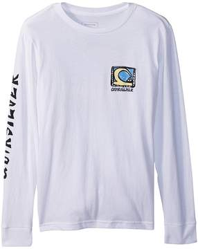 Quiksilver Dens Way Long Sleeve Top Boy's Long Sleeve Pullover