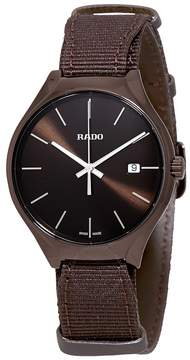 Rado True Quartz Brown Dial Men's Watch