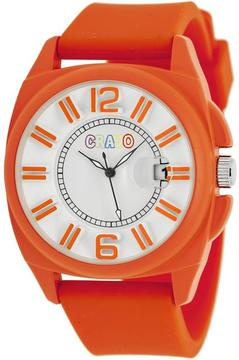 Crayo Sunset Collection CRACR3307 Unisex Watch with Silicone Strap