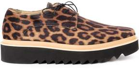 Stella McCartney animal print platform sneakers