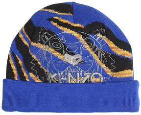 Kenzo Doubled Knitted Cotton Hat