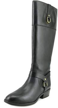 Lauren Ralph Lauren Mesa Women US 8.5 Black Knee High Boot