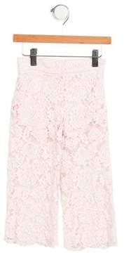 MonnaLisa Girls' Lace Pants