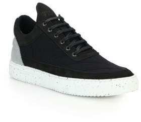 Filling Pieces Low-Top Leather Sneakers