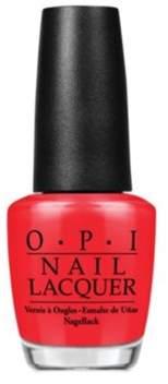 OPI Nail Lacquer Nail Polish, Color So Hot It Berns.