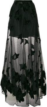 Elie Saab lace A-line maxi skirt