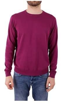 Sun 68 Men's Purple Cotton Sweater.