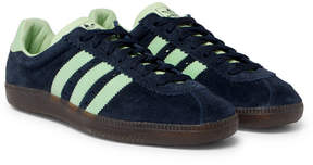 adidas Padiham Spezial Leather-Trimmed Suede Sneakers