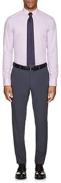 Armani Collezioni MEN'S PUPPYTOOTH COTTON DRESS SHIRT
