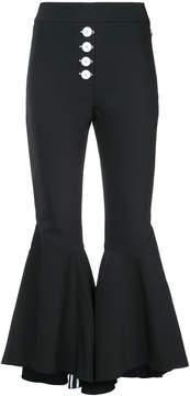 Ellery kick flare trousers
