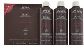 Aveda Invati(TM) Scalp Revitalizer Refill Trio