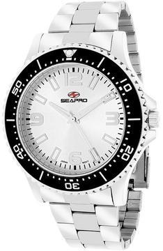 Seapro SP5331 Men's Tideway Silver Stainless Steel Watch
