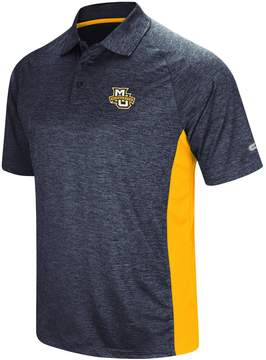 Colosseum Men's Marquette Golden Eagles Wedge Polo