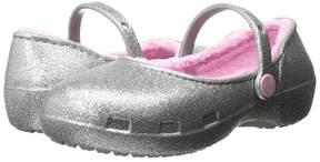 Crocs Karin Sparkle Lined Clog Girls Shoes