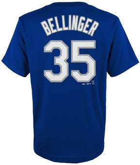 Majestic Boys 4-18 Los Angeles Dodgers Cody Bellinger Player Name and Number Tee