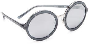 3.1 Phillip Lim Round Mirror Sunglasses