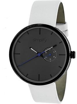 Simplify The 3900 Collection SIM3901 Unisex Watch with Leather Strap