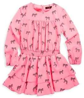 Imoga Little Girl's & Girl's Floral-Print Dress