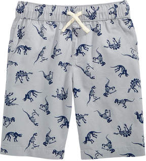 Epic Threads Dino-Print Cotton Shorts, Little Boys, Created for Macy's