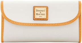Dooney & Bourke Claremont Continental Clutch - BONE - STYLE