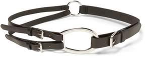 Ralph Lauren Tri-Strap Leather Belt