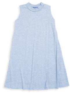 Un Deux Trois Girl's Chambray Dress