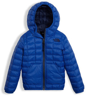 The North Face ThermoBall Hooded Jacket, Blue, Size 2-4T