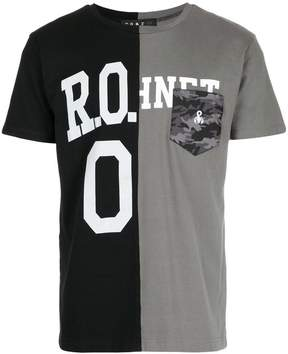 Roar colour block T-shirt