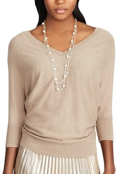 Chaps Women's V-Neck Sweater