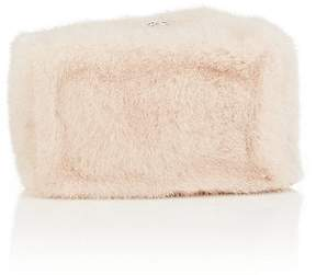 Proenza Schouler Women's Mink Fur Asymmetric-Frame Clutch
