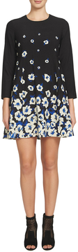 CeCe Women's Asha Border Floral Dress