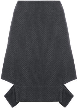 Chalayan cut out pencil skirt
