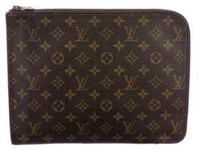 Louis Vuitton Vintage Monogram Poche Documents Portfolio