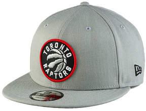 New Era Toronto Raptors Gray Pop 9FIFTY Snapback Cap