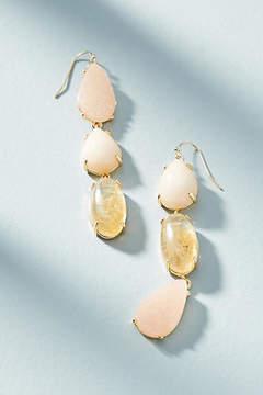 Anthropologie Harmonious Stone Drop Earrings