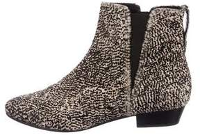 Etoile Isabel Marant Ponyhair Pointed-Toe Booties