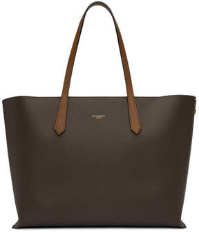 Givenchy Taupe GV Shopper Tote