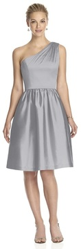 Alfred Sung D530 Bridesmaid Dress in French Gray