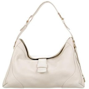 Loro Piana Grained Leather Hobo