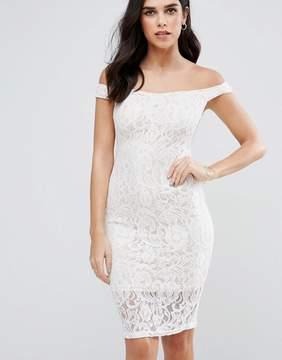 AX Paris Bardot Lace Dress