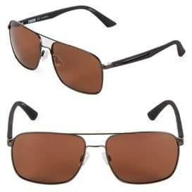Puma 59MM Aviator Sunglasses